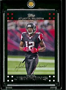 2007 Topps Football # 116 Michael Jenkins - Atlanta Falcons - NFL Trading Cards