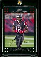 2007 Topps Football # 116 Michael Jenkins - Atlanta Falcons - NFL Trading Cards