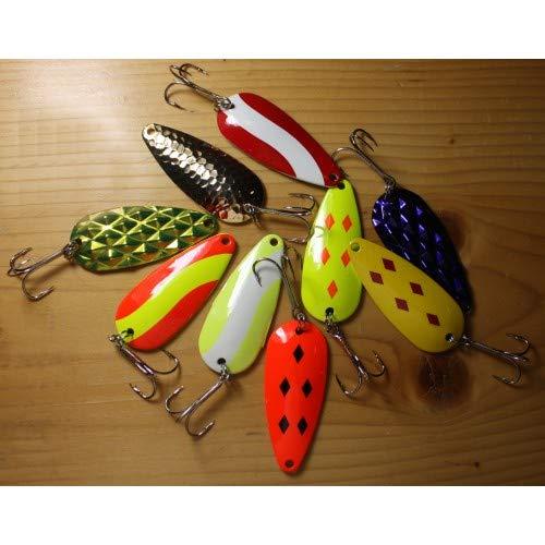 Unexcelled Fishing Spoon Assortment - 7/8 oz 5 Piece Assortment