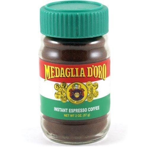 Medaglia D'Oro Instant Espresso Coffee 2 Ounce (Pack 2) by Medaglia D'Oro