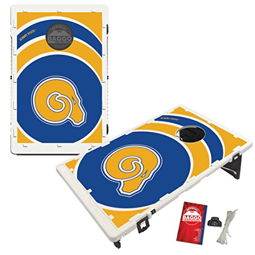 Albany State Golden Rams Baggo Bean Bag Toss Cornhole Game Vortex Design by Victory Tailgate