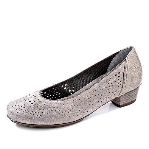 Mujeres Zapatos de tacón CHIARA plata, (CHIARA) 12-37631-09