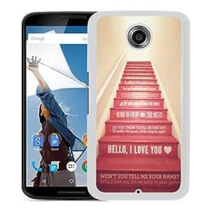 Hello I Love You (2) Google Nexus 6 Phone Case On Sale