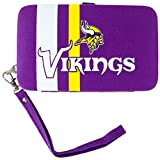 NFL Minnesota Vikings Distressed Logo Shell Wristlet