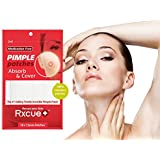 Rxcue Korean INVISIBLE Acne Blackhead Pimple Master Patches | 2, 5 AND 10 Pack | Super Thin and Medication Free | 12 mm size (1 Pack - 18 Pieces)