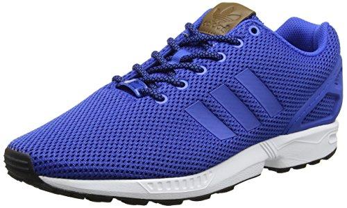 adidas Zx Flux, Zapatillas para Hombre, Negro Azul (Blue/blue/footwear White)