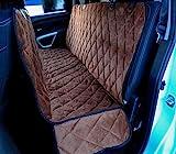 Cheap Plush Paws Ultra-Premium Velvet Pet Seat Cover, Hammock Convertible, Full Waterproof for Cars, Trucks & SUVs, Chocolate XL