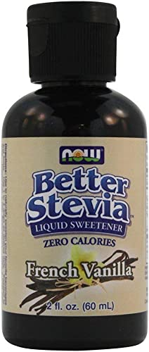 Now Foods BetterStevia Liquid Extract French Vanilla – 2 oz. 4 Pack