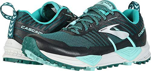 Brooks Women's Cascadia 13 Teal/Aqua/Grey 10.5 B US ()