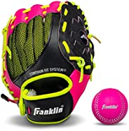 """Franklin Sports Neo-Grip Teeball Gloves - 9.0"""" - Left Handed and Right Handed G"""