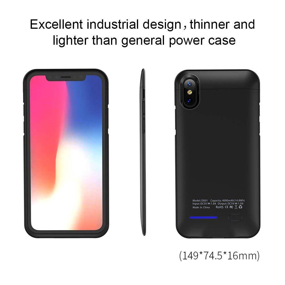 Funda Con Bateria de 4000mah para Apple Iphone X/Xs LAQUEEN [79C9CVR6]