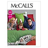 McCall's Patterns M6475 Misses'/Men's/Children's/Boys'/Girls' Jumpsuit and Detachable Booties, Size ADT (XS-SML-MED-LRG)
