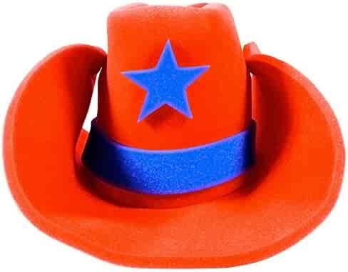 79539bfad Shopping Hats - Event & Party Supplies - Orange - Home & Kitchen on ...