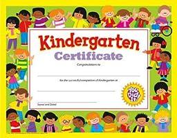 Kindergarten Certificate- 30 per pack