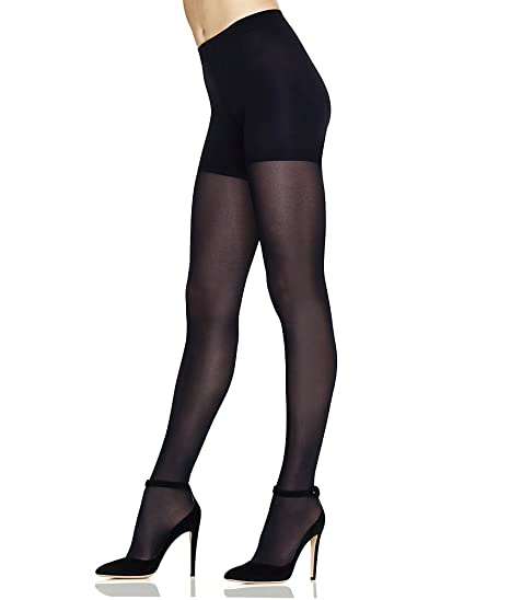 50951d784 Perfect Comfort Flex Opaque Tights at Amazon Women s Clothing store