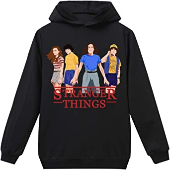 Stranger Things Hoodie Unisex Men Women Halloween Costume Scoops Ahoy Dostin Robin Sweatshirt Ladies Cosplay Season 3 Jumper Teen Girls Boys Kids Pullover Sweater Clothes Merchandise
