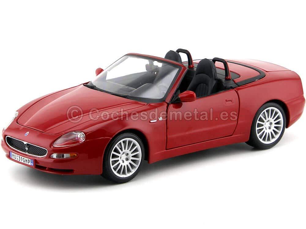2000 Maserati GT Spyder Rojo 1:18 Bburago 12019 Cochesdemetal.es