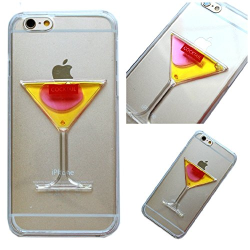 pc-hard-plastic-case-for-iphone-5-5s-cocktail-martini-glass-goblet-flowing-transparent-plastic-hard-