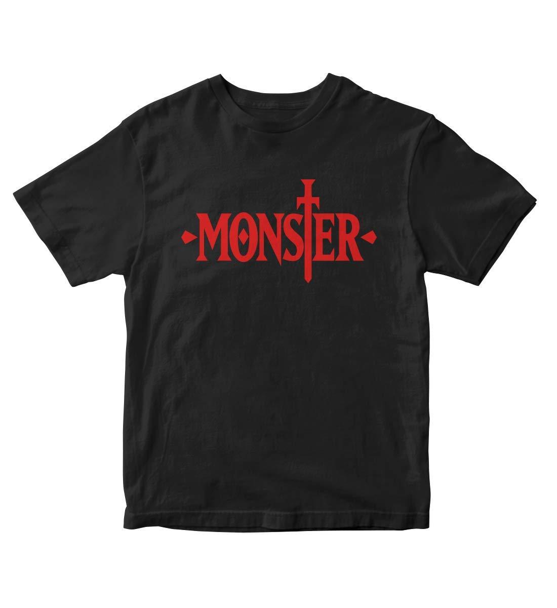 Tjsports Naoki Urasawa Monster Anime Manga Black Shirt S A272