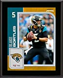 Blake Bortles Jacksonville Jaguars 10.5'' x 13'' Sublimated Player Plaque - NFL Player Plaques and Collages