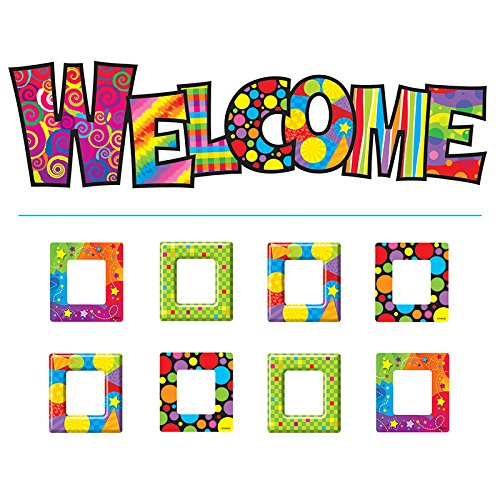 TREND enterprises, Inc. Razzle-Dazzle Welcome Bulletin Board Set