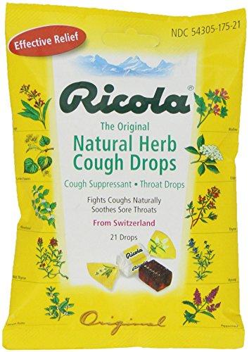 Ricola Natural Cough Drops Original