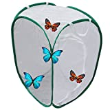 Miraclekoo Insect and Butterfly Habitat Terrarium Pop-up (15.7 x 15.7 x 23.6 inch)