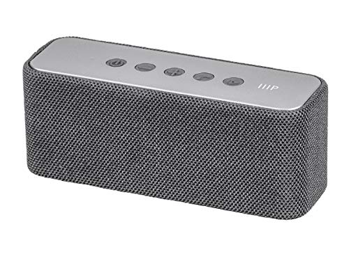 Monoprice Harmony Mini Bluetooth Wireless Speaker - Grey | 10 Watts, Up to 8 Hours of Playback, Portable, On The go