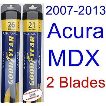 Amazon Com 2007 2013 Acura Mdx Replacement Wiper Blade