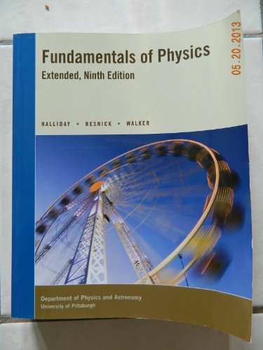 Fundamentals of Physics Extended Ninth Edition