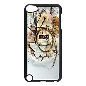Butterfly Art Pattern Hard Plastic Back Cover Case For Ipod Touch 5 Case TSL313897