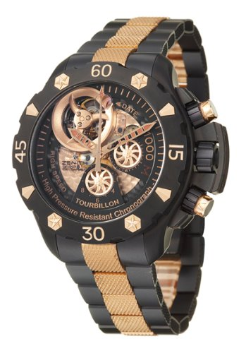 amazon com zenith defy xtreme tourbillon men s automatic watch 96 amazon com zenith defy xtreme tourbillon men s automatic watch 96 0528 4035 21 m528 watches