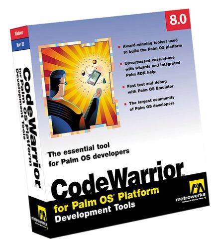 CodeWarrior Professional for Palm OS 8.0