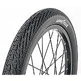 Goodyear - Neumático Plegable para Bicicleta, 18 x 1,5/2,125, Color Negro