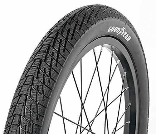 """Price comparison product image Goodyear Folding Bead Bicycle Tire, 18"""" x 1.5/2.125"""", Black"""