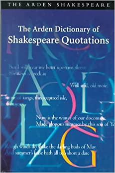 Book The Arden Dictionary of Shakespeare Quotations