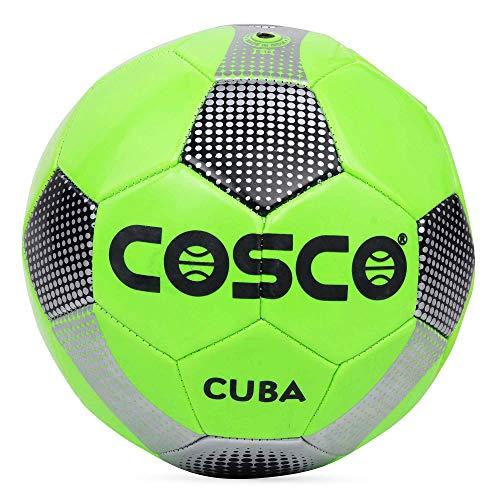 Cosco Cuba Football   Green   Size 5