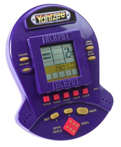 Yahtzee Jackpot Electronic Handheld Casino Style Game (Yahtzee Electronic)