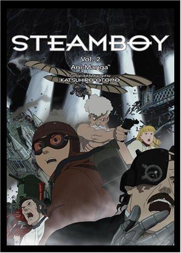 Download Steamboy Ani-Manga, Volume 2 pdf epub
