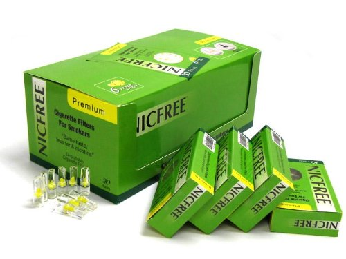 Nicfree Cigarette Filters For Smokers - 20 Packs