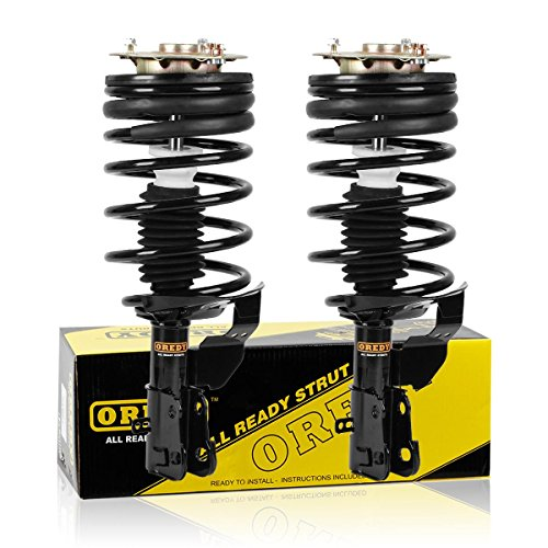 OREDY Front Pair Complete Struts Assembly Shock Coil Spring Assembly Kit 171771 11250 Compatible with 1987 1988 1989 1990 Chevrolet Celebrity & Pontiac 6000 & Oldsmobile Cutlass Ciera & Buick Century ()