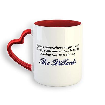 Amazon com: Personalized Custom Tagline Ceramic Valentine's