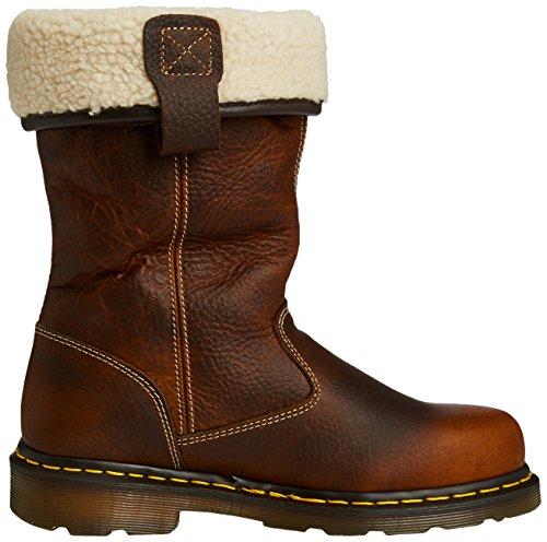 Dr Martens - Teak - Pull On Safety Footwear - Size 3 4 5 6 7 8 Teak