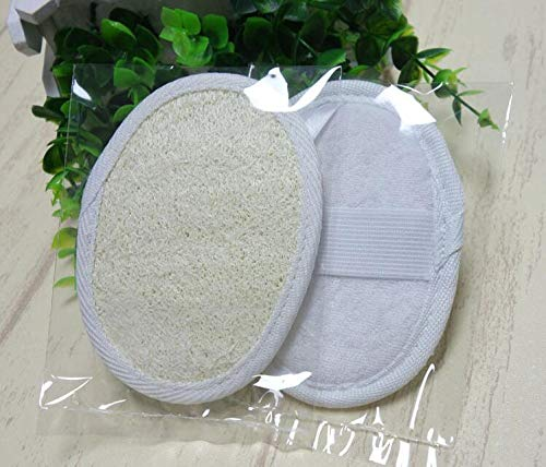 Bath Brushes - 500pcs Lot 9 12cm Beige Square Natural Loofah Shower Brush Exfoliating Gloves Sn2043 - Kids Silicone Set Gift For Feet Soft Handles Dogs Long