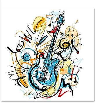 Superluckty Pinturas Decorativas Dibujar en Lienzo Pintura Digital ...