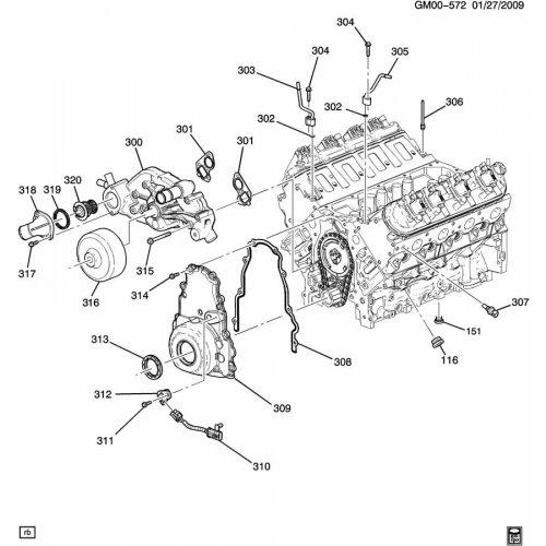 General Motors, SEAL, 12602541