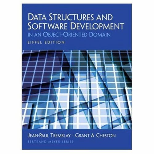 Data Structures And Software Development In An Object Oriented Domain Eiffel Edition Amazon Com Br