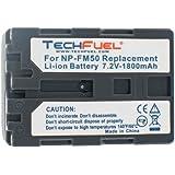 Sony Mavica MVC-CD500 Digital Camera Replacement Battery - TechFuel Professional NP-FM30, NP-FM50 Battery