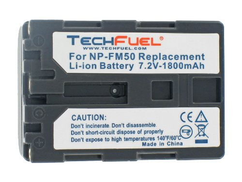 Sony CCD-TRV138 Camcorder Replacement Battery - TechFuel ...
