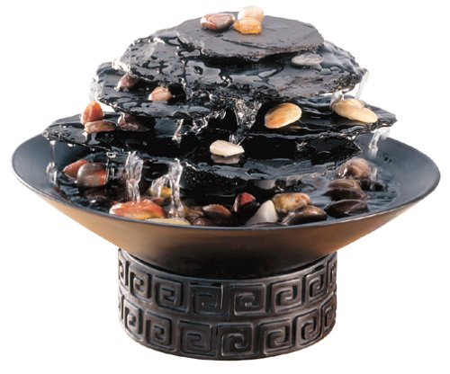 HoMedics WF-Rock Rock Garden Tabletop Fountain